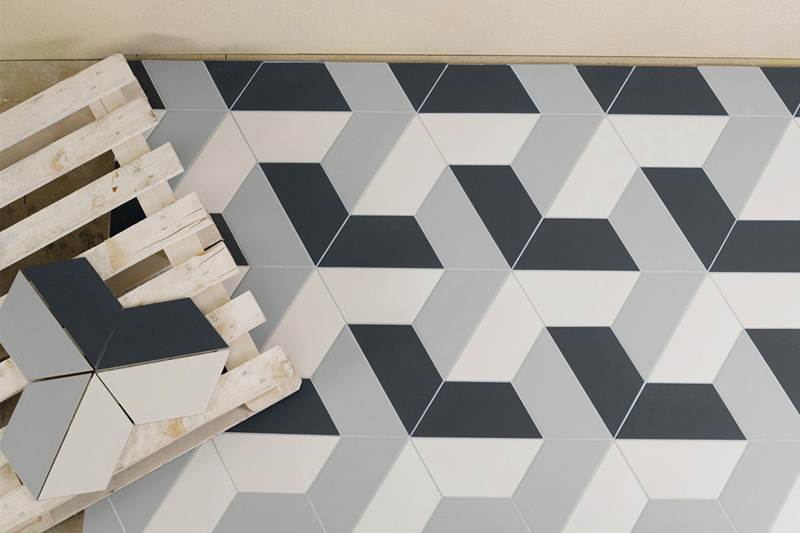 TILE TREND Hexagonal Tiles Kate Walker Design KWD